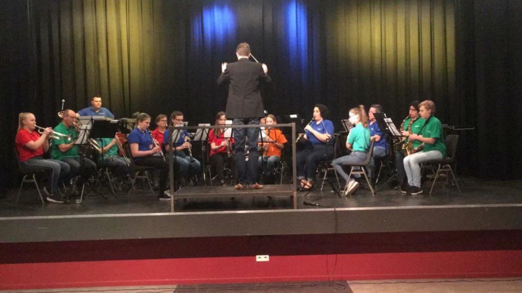 B-orkest tijdens tryout voor Jeugdorkestenfestival 2019