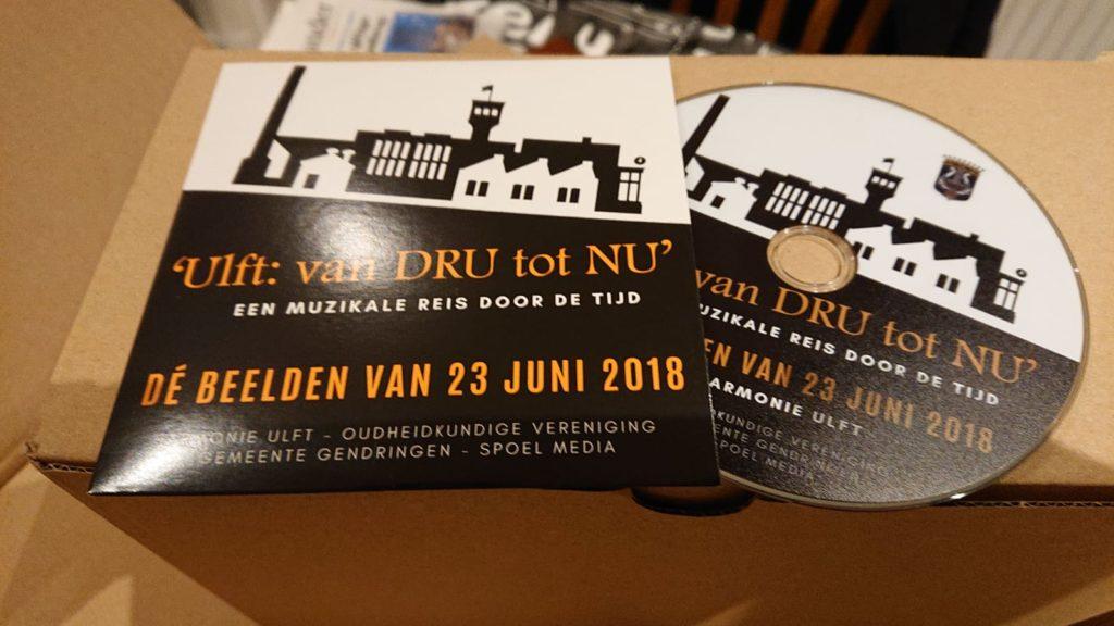 Harmonie Ulft heeft een dvd uitgebracht van haar concert 'Ulft: Van DRU tot NU', de muzikale reis door de geschiedenis van Ulft.